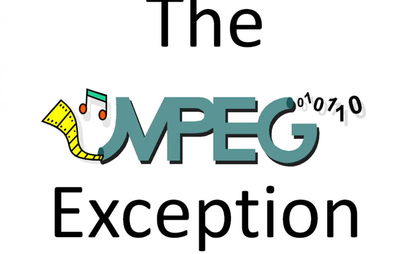 The MPEG exception