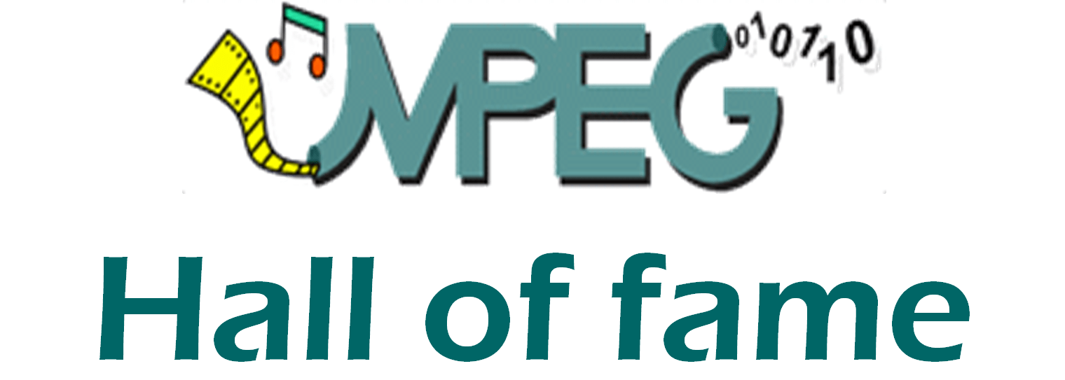 The MPEG Hall of fame