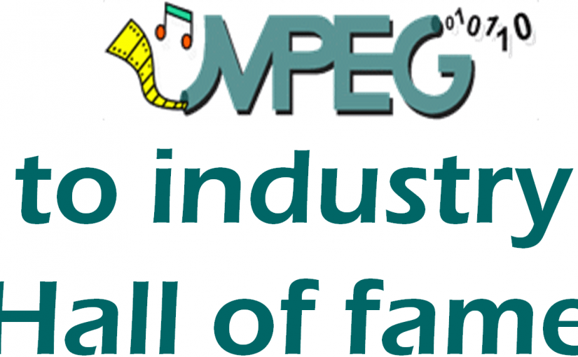 The MPEG to Industry Hall of fame